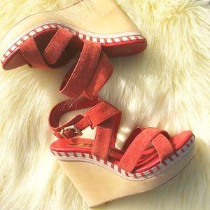 Vince Camuto | Lene sandal wedges size 7.5